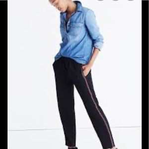 Madewell track pants